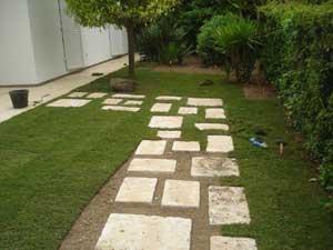 Création jardin Mazaudier Bernard dalles