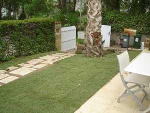 Création jardin Mazaudier Bernard dalles 2